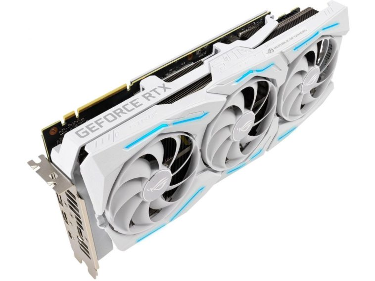 ASUS GeForce RTX 2080 SUPER ROG STRIX White 41