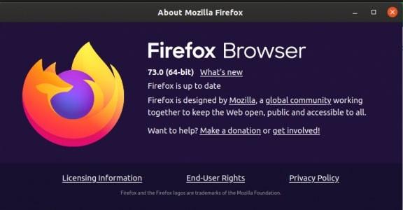 Firefox 73 1