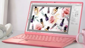 MSI Prestige 14 Pink