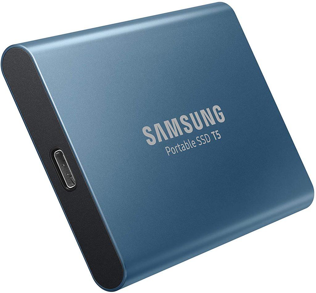 Samsung Disque Dur Externe SSD Portable T5