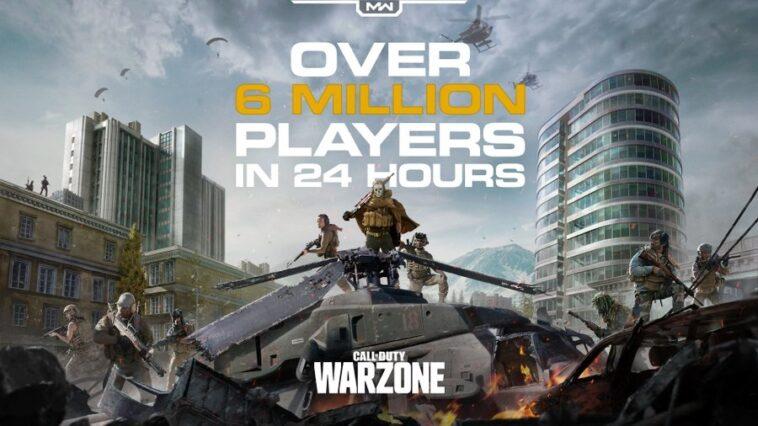 Call of Duty : Warzone, plus de 6 millions de joueurs en 24h
