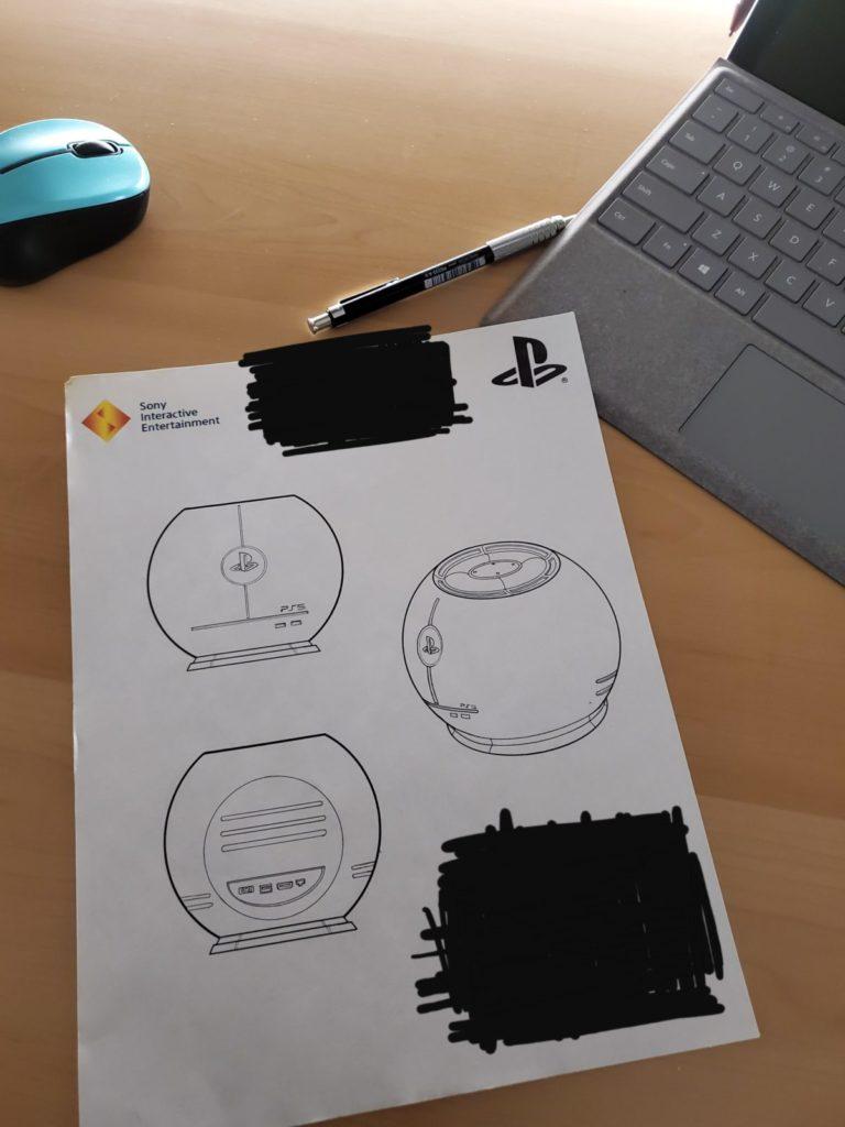 design ps5 leak