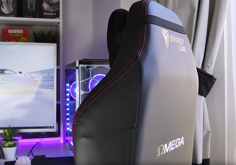 dossier chaise gamer secretlab omega