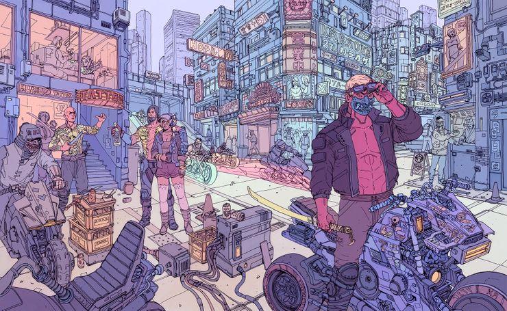 extrait jeu cyberpunk 2077