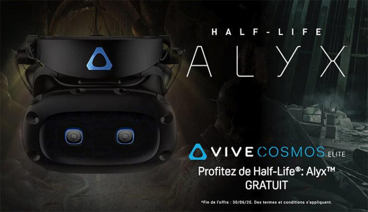 htc vive cosmos elite et half-life elix