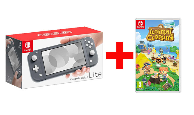 nintendo switch lite grise AC