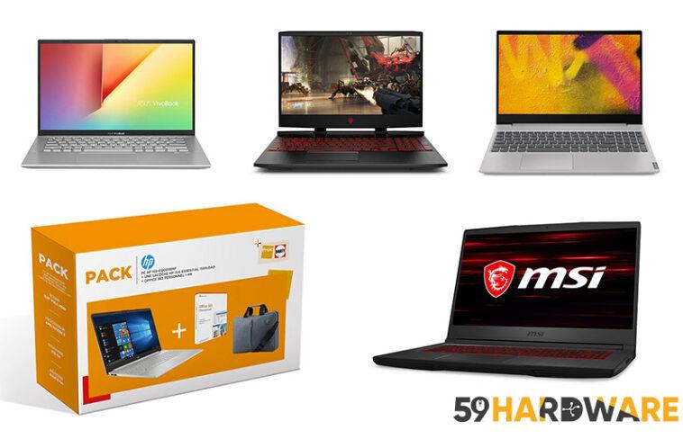 promo ordinateur portable télétravail