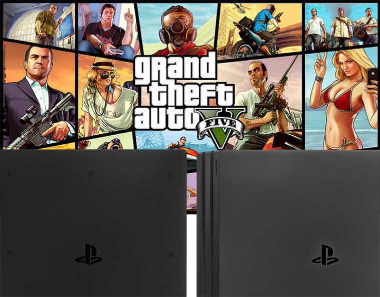 PS4 Pro GTA 5