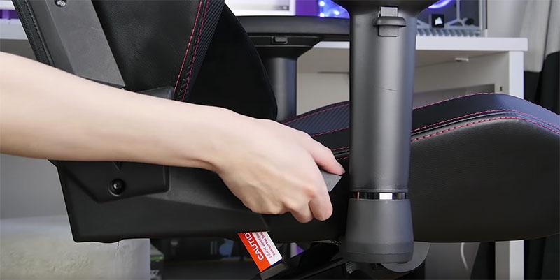 reglage chaise secretlab omega