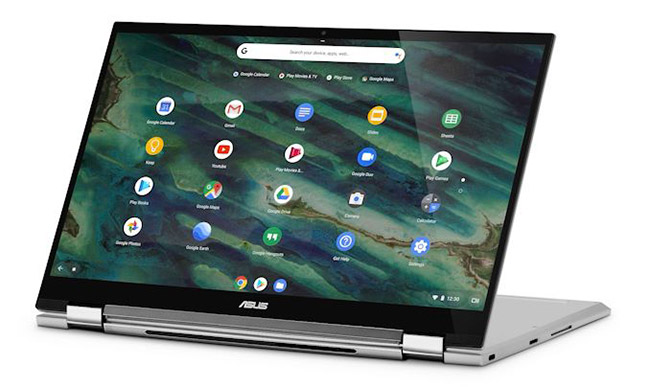 ASUS Chromebook C436 en mode flip