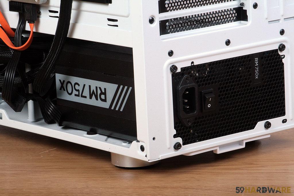 Corsair iCUE 465X RGB alimentation