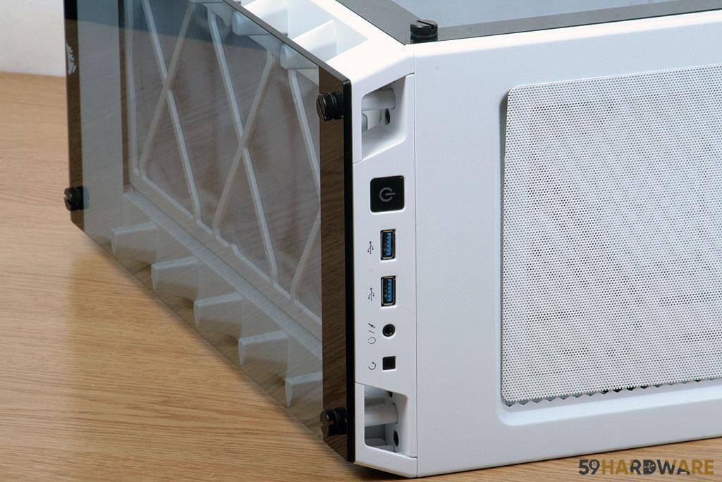 Corsair iCUE 465X RGB grille avant