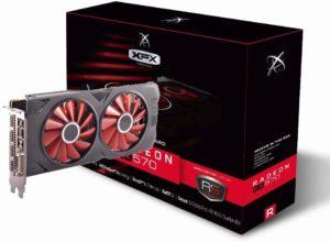XFX RX-570RS XXX-Edition Radeon 8Go GDDR5 Carte Graphique