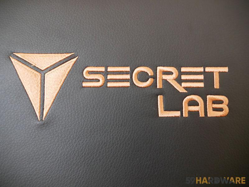 logo secretlab brodé chaise gamer