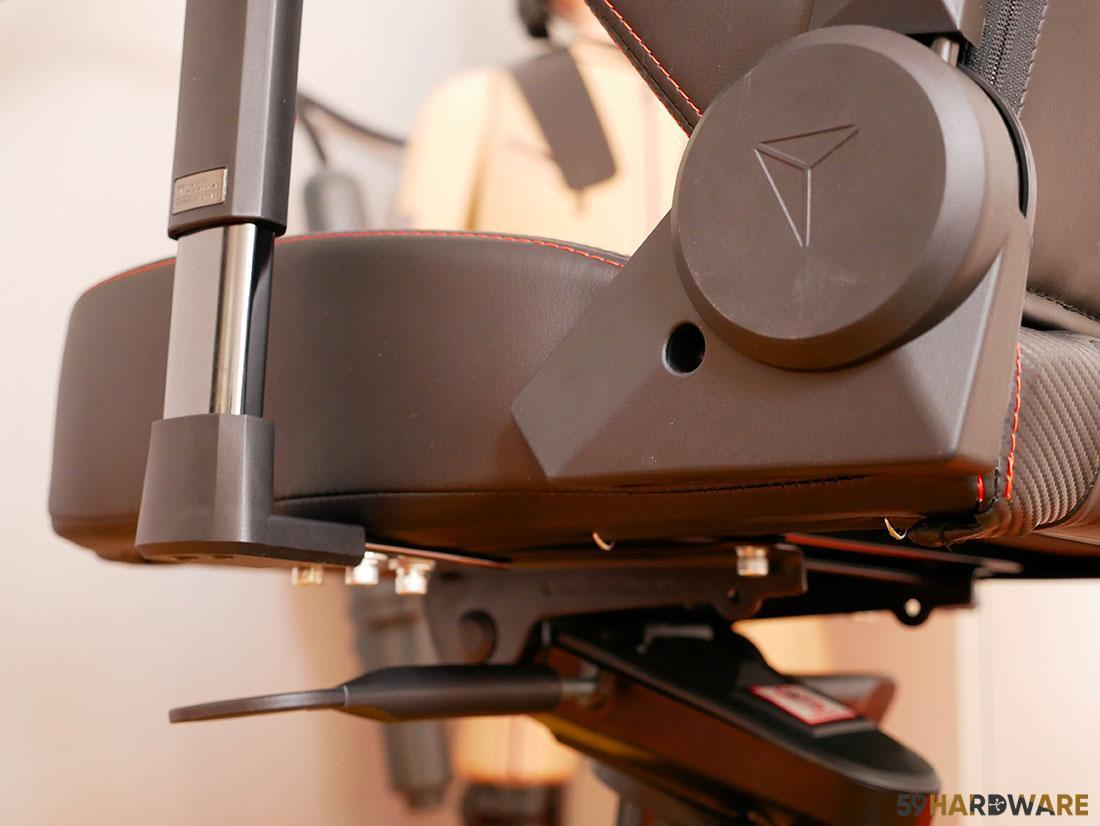 reglages chaise secretlab titan