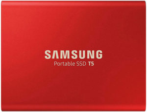 samsung t5 rouge