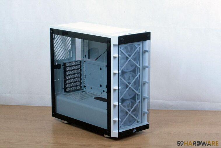 test boitier Corsair iCUE 465X RGB