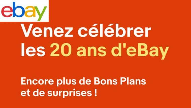 Code promo ebay anniversaire
