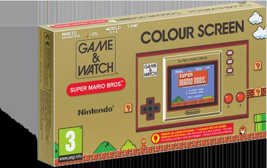 Game&watch mario box