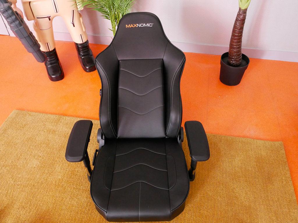 montage chaise Maxnomic leader black
