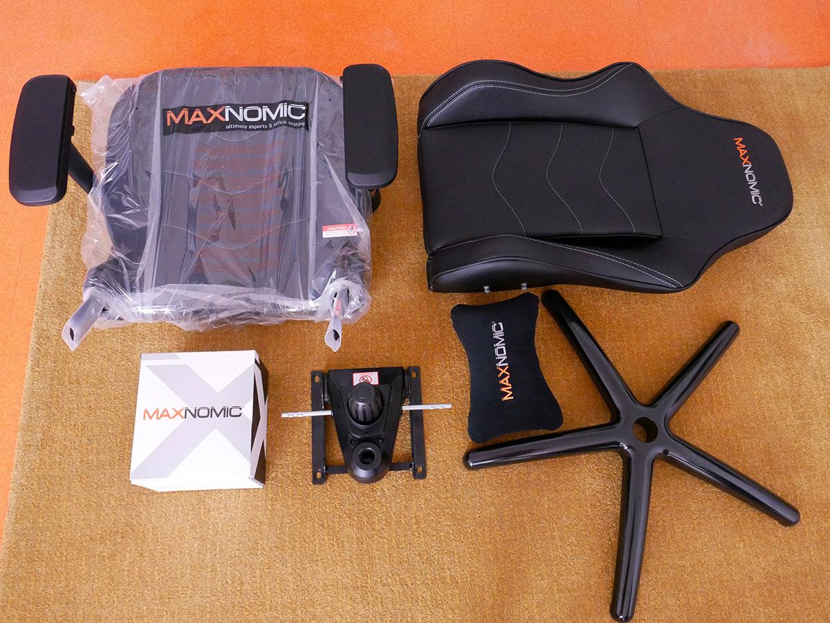 montage colis maxnomic leader black