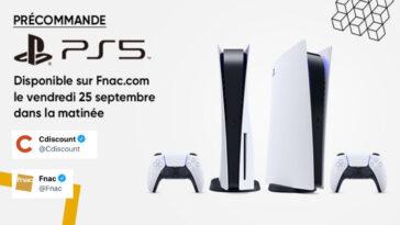 Precommande PS5 Cdiscount Fnac