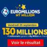 Resultat Euromillion 25 septembre 2020