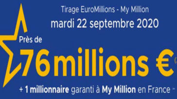 Resultat Euromillions 22 Septembre 2020