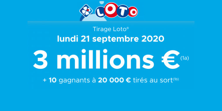 Resultat LOTO 21 Septembre 2020 Joker+ et codes loto gagnant