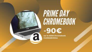 Amazon Prime day chromebook asus promo