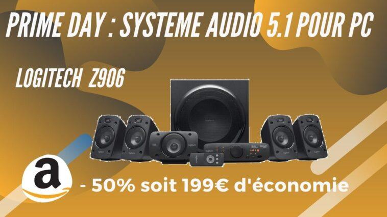Amazon Prime day logitech z906 promo
