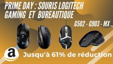 Amazon prime day souris logitech promo