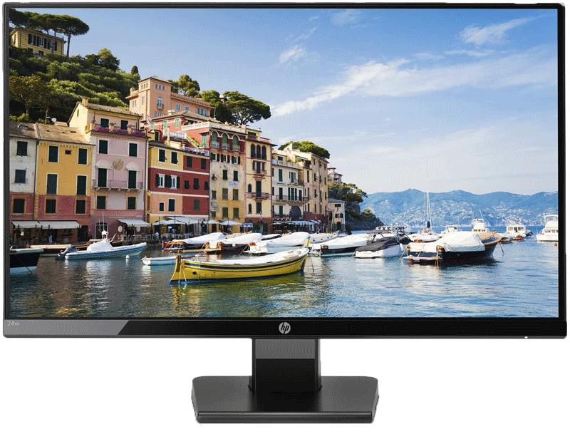 HP 24w Ecran PC Full-HD promo
