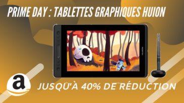 amazon Prime days tablette graphique huion
