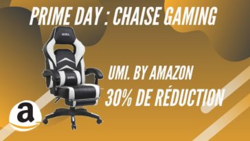 amazon prime day chaise gaming umi