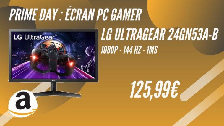 amazon prime day ecran pc gamer lg 24