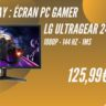 amazon prime day ecran pc gamer lg 24