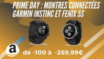 amazon prime day garmin instinc fenix 5s promo