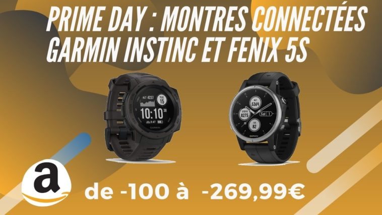 amazon prime day garmin instinc fenix 5s promo