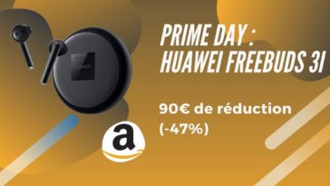 amazon prime day huawei freebuds 3i promo