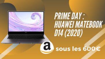 amazon prime day huawei matebook d14 promo
