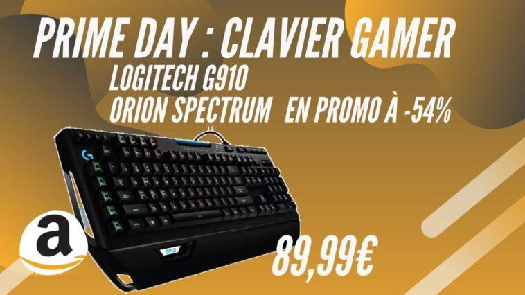 amazon prime day logitech g910 promo