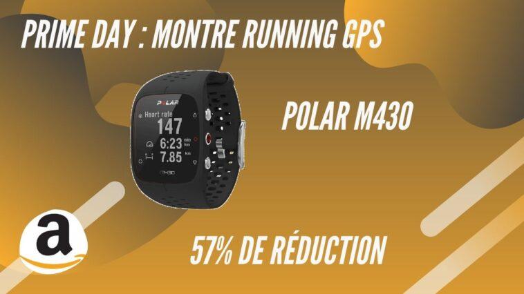 amazon prime day montre gps polar m430 promo