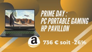 amazon prime day pc gamer hp pavillon promo