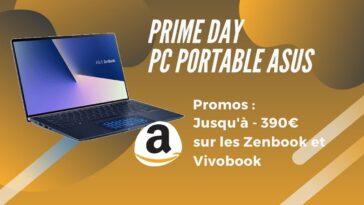 amazon prime day pc portable asus promo