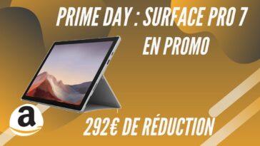 amazon prime day promo surface pro 7