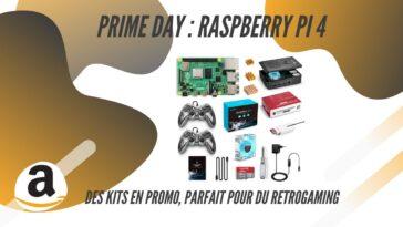 amazon prime day raspberry pi 4 kit en promo