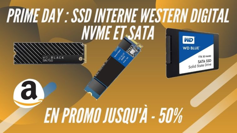 amazon prime day ssd nvme western digital promo