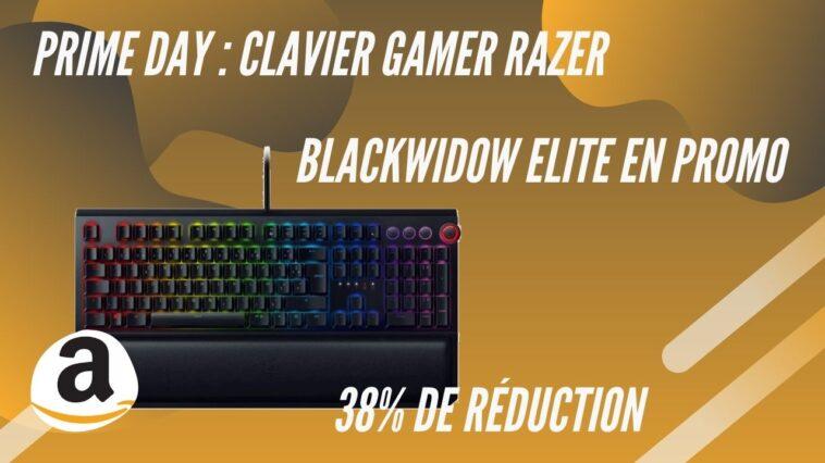 amazon prime days clavier razer promo