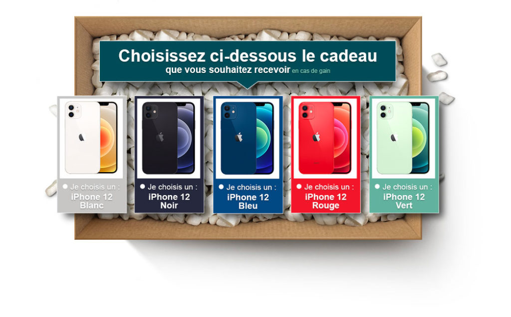 concours iphone 12